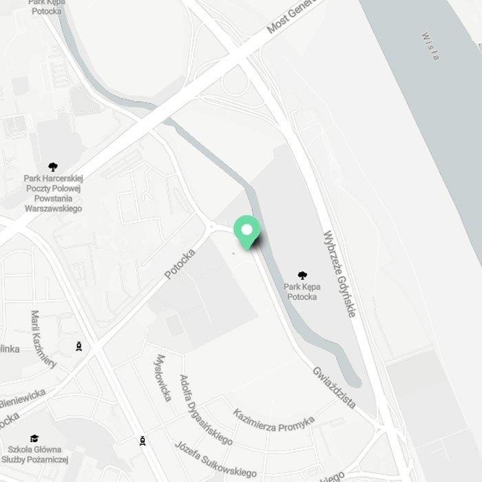 mapa do Softwebo - Warszawa